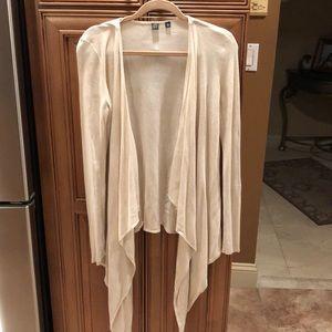 Saks Fifth Ave silk/cashmere blend cardigan